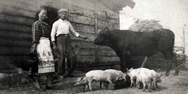Ukrainian farmers who hid Jews in haystack during Holocaust