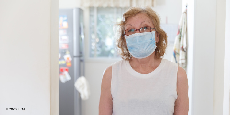 face masks for elderly during COVID-19 crisis