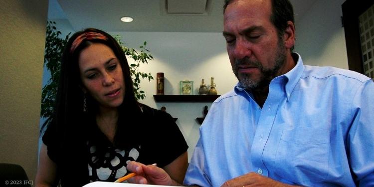 Yael and Yechiel Eckstein