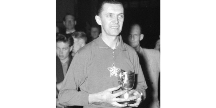Champion table tennis player and Righteous Gentile, Zarko Dolinar