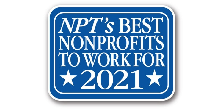 Best Nonprofits to Work for in 2021 logo